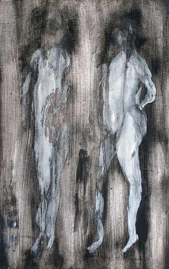 C'est la première fois que vous peignez une figure humaine ? Alors commencez par Adam et Eve.