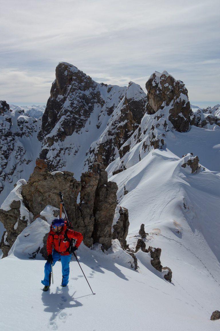 ambiance alpine sur la crête sud du point coté 2630