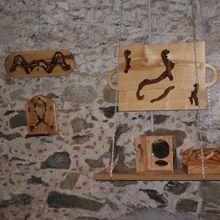 """Les surprises de l'exposition """"des bois en liberté"""""""