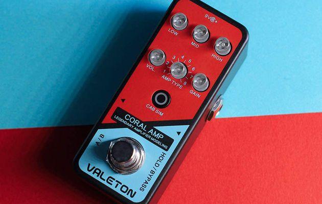 Test : pédale VALETON Coral Amp