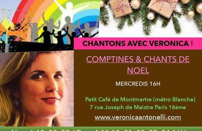 """La Touche Enchantée présente """"Chantons avec Veronica !"""" spectacle pour enfants"""