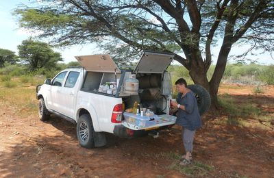 2015 - Premiers pas en Namibie