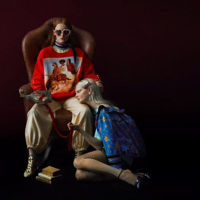 GUCCI #GUCCIHALLUCINATION LIMITED EDITION COLLECTION STARING THE WORK OF IGNASI MONREAL
