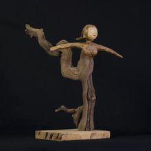 Rétrospective de mes sculptures en ceps de vigne et papier