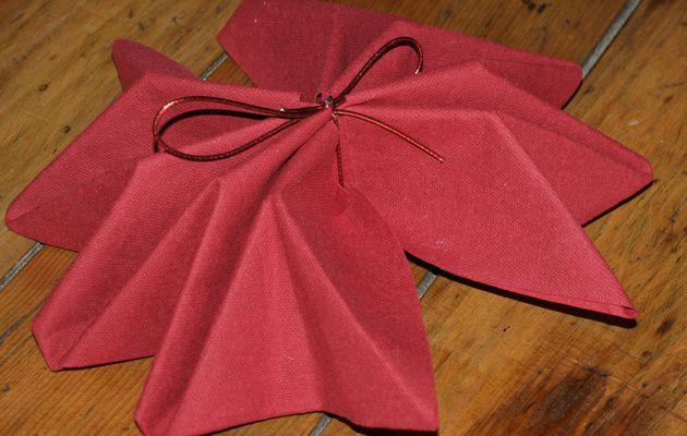 Plier serviette papier