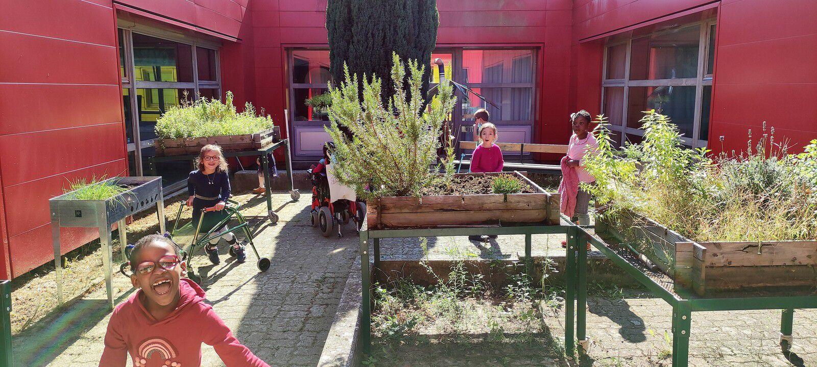 Ouverture du jardin potager