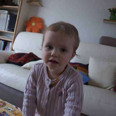 Portrait : Auriane, 26 mois