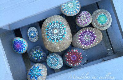D.I.Y. : Mandalas sur cailloux