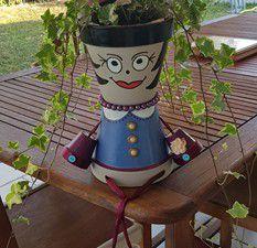 Mes petits pots peints - Pour des 80 ans