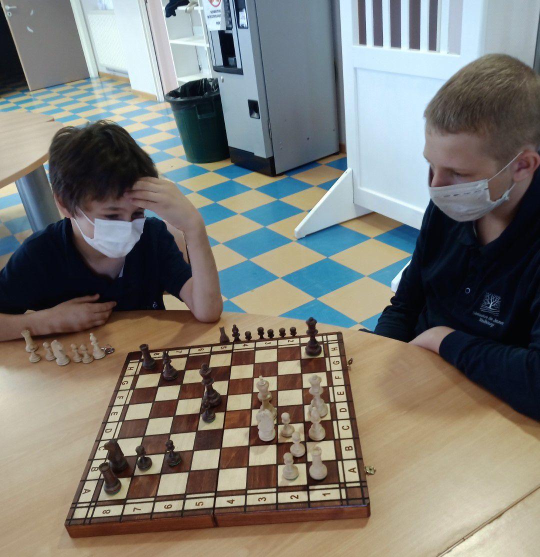 L'activité jeu d'échecs est de retour !
