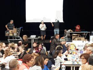 """Dimanche 10 février 2019 le Rotary Firminy-Gorges de la Loire organisait au firmament son loto dont les bénéfices sont destinés à la maternité de l'Hôpital de Firminy et à l'association appelouse """"Etoile filante"""". Jean-Paul Ray en charge de l'organisation de cette après midi et tous les bénévoles nous ont très chaleureusement accueillis, merci à eux. (3 photos)"""