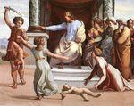 Une Rivalité entre Isis et Hathor arbitrée par Salomon?