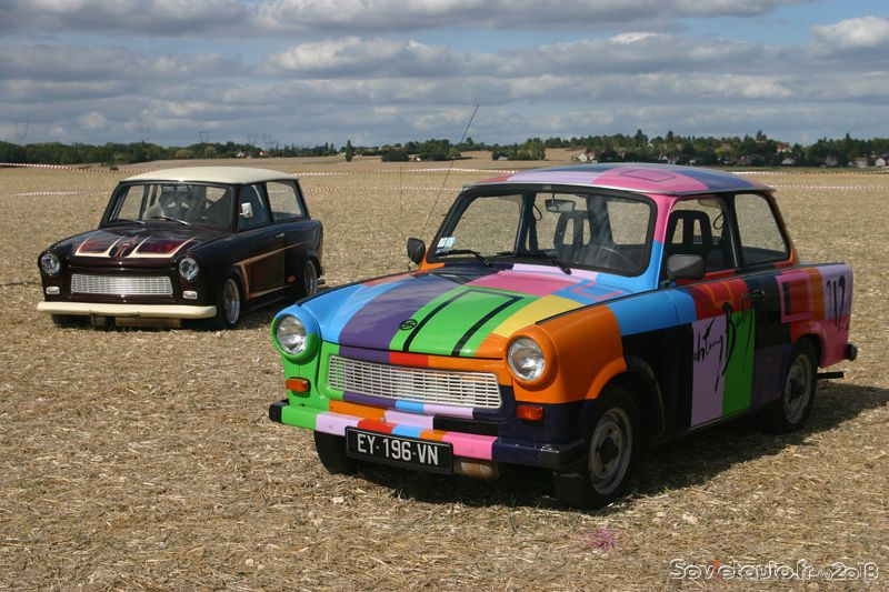 Le 1er rassemblement international de Trabant de France !
