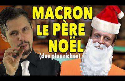 Macron, le père Noël des riches