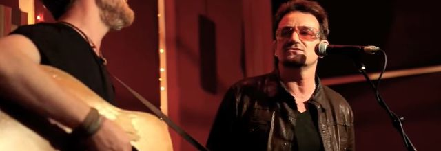 Bono et Glen Hansard -The Living Room - New York - 08/05/2012