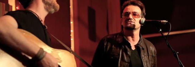 Bono et Glen Hansard -The Living Room - New York - 08/05/2012