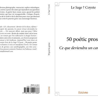 50 poétic prose / auteur : REKLEWSKI Pawel dit Le Sage? Coyote