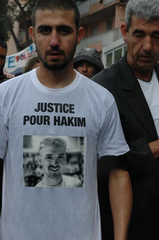 Hakim Ajimi, mort le 9 mars 2008, à la suite de son interpellation par la police.