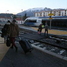 Retards sur la ligne des Alpes samedi 27 décembre