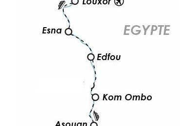 5 au 12 Mars 2022 : Croisière sur le NIL avec excursion à ABOU SIMBEL