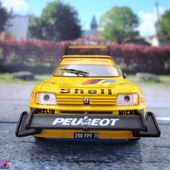 PEUGEOT 205 TURBO 16 205 T16 RALLYE PIKES PEAK ARI VATANEN SOLIDO 1/43 - car-collector.net