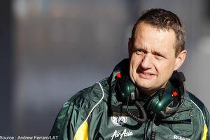 Le directeur sportif de Caterham, Steve Nielsen, s'en va