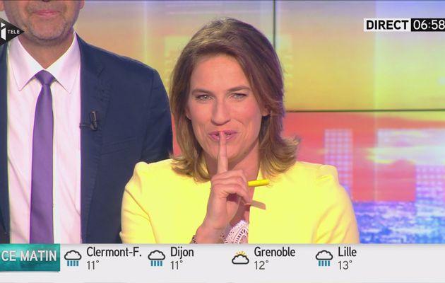 CLAIRE FOURNIER pour L'ÉCONOMIE dans DES 5H sur i>tele le 2016 06 02