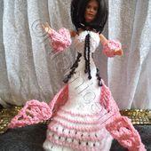 tuto gratuit barbie; robe futuriste - Chez Laramicelle