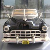 FASCICULE N°1 CADILLAC COUPE DE VILLE 1949 BLACK ROAD SIGNATURE 1/43 - car-collector.net