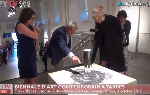 Exposition Tras  - Traces au Carmel à Tarbes (3 oct 18) | HPyTv La Télé de Tarbes