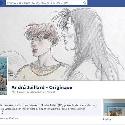 Facebook: André Juillard Originaux