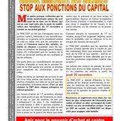 La Fédération CGT de la Chimie appelle à la grève à partir du 22 novembre pour la hausse immédiate des salaires - Front Syndical de Classe