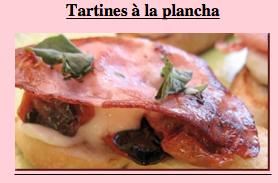 Plancha & Barbecue: Tartines à la plancha