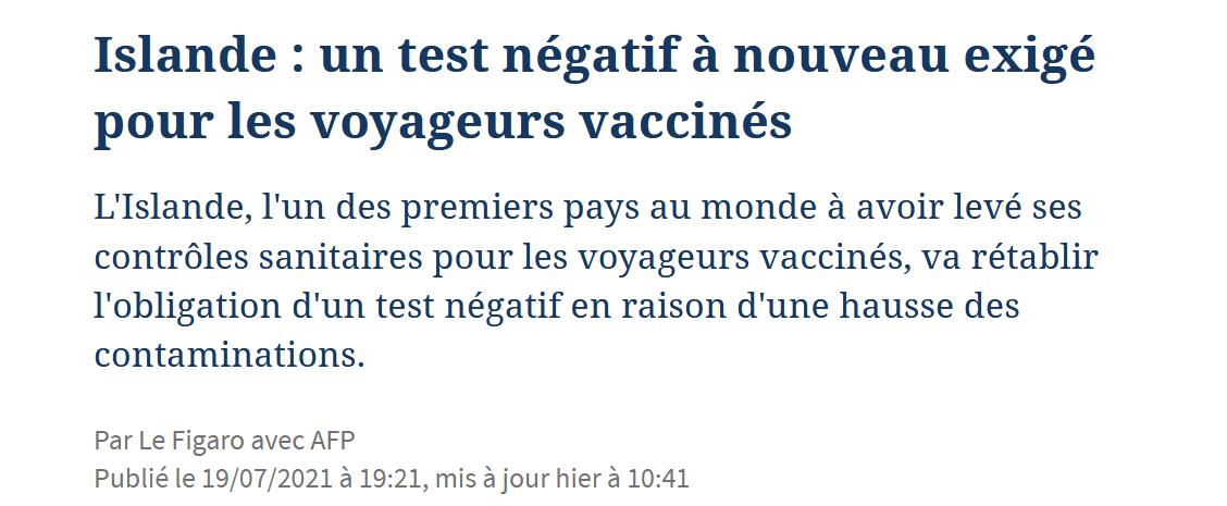Images du jour : Vaccin