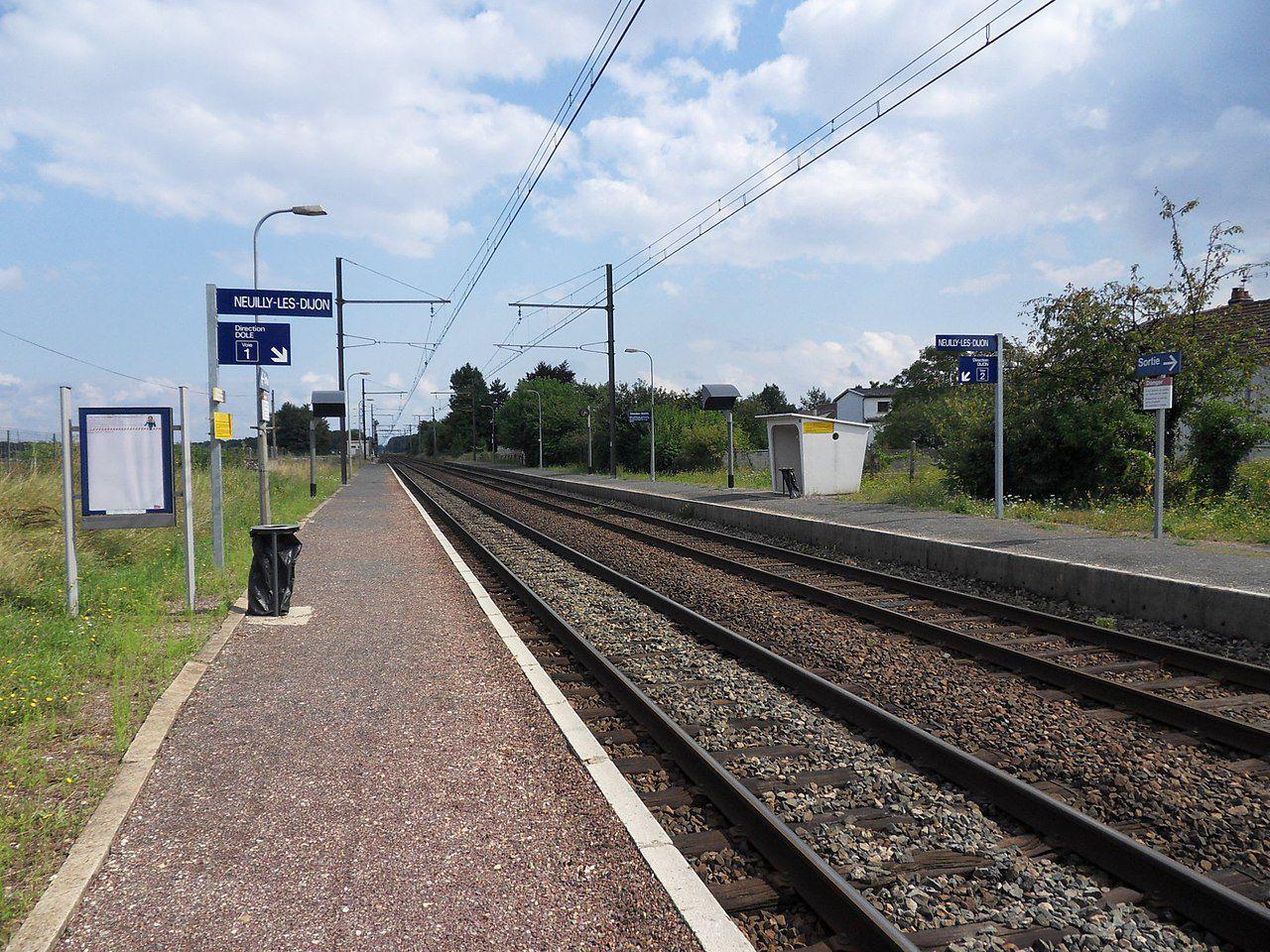 Gare de Neuilly-lès-Dijon (21)