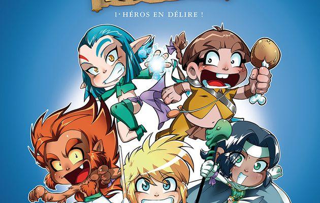 """La couverture de """"Héros en Délire !"""" disponible en HQ !"""