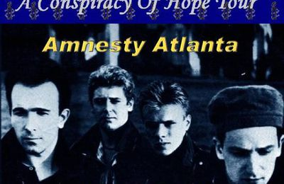 U2 -Conspiracy Of Hope -11/06/1986 -Atlanta -Etats-Unis -The Omn