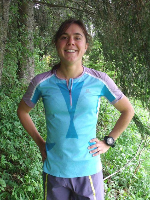 26octobreJuliette Benedicto etThibaut Baroniansur le72 kmdu Grand Trail des Templiers