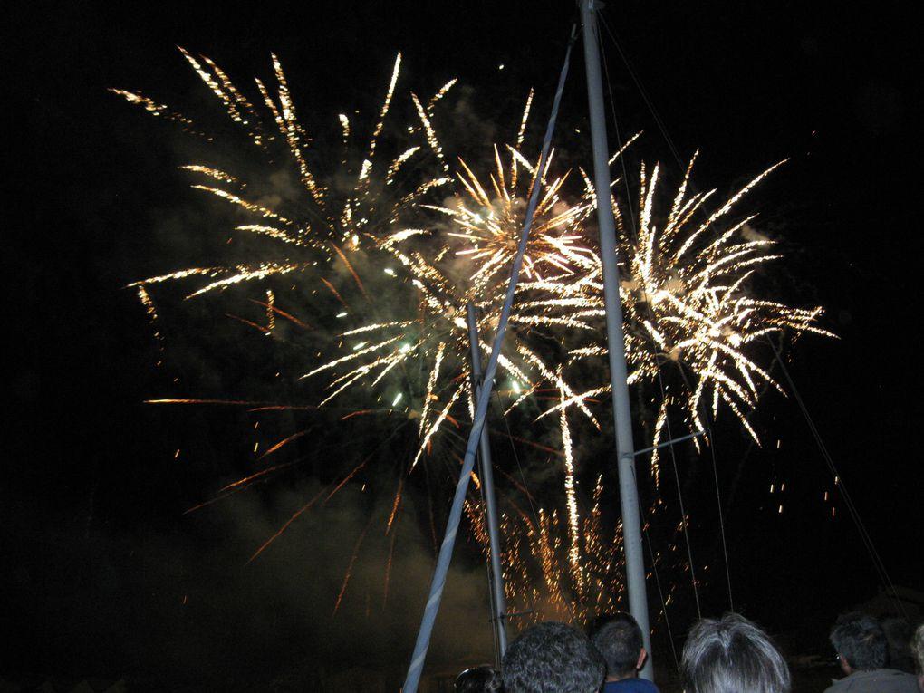 feu d'artifice du 15 aout  à St Gilles Croix de Vie
