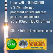 LOCAL VAR - Rocbaron : le partenariat LOU NISTOUN / START pour la création de sites internet