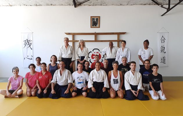 Stage d'aikido en images