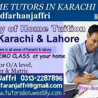 MBA Tutor in Karachi for Private MBA Tuition and Online Tutoring. We also provide teaching jobs