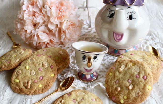 Cookies à la noisette et chocolat blanc
