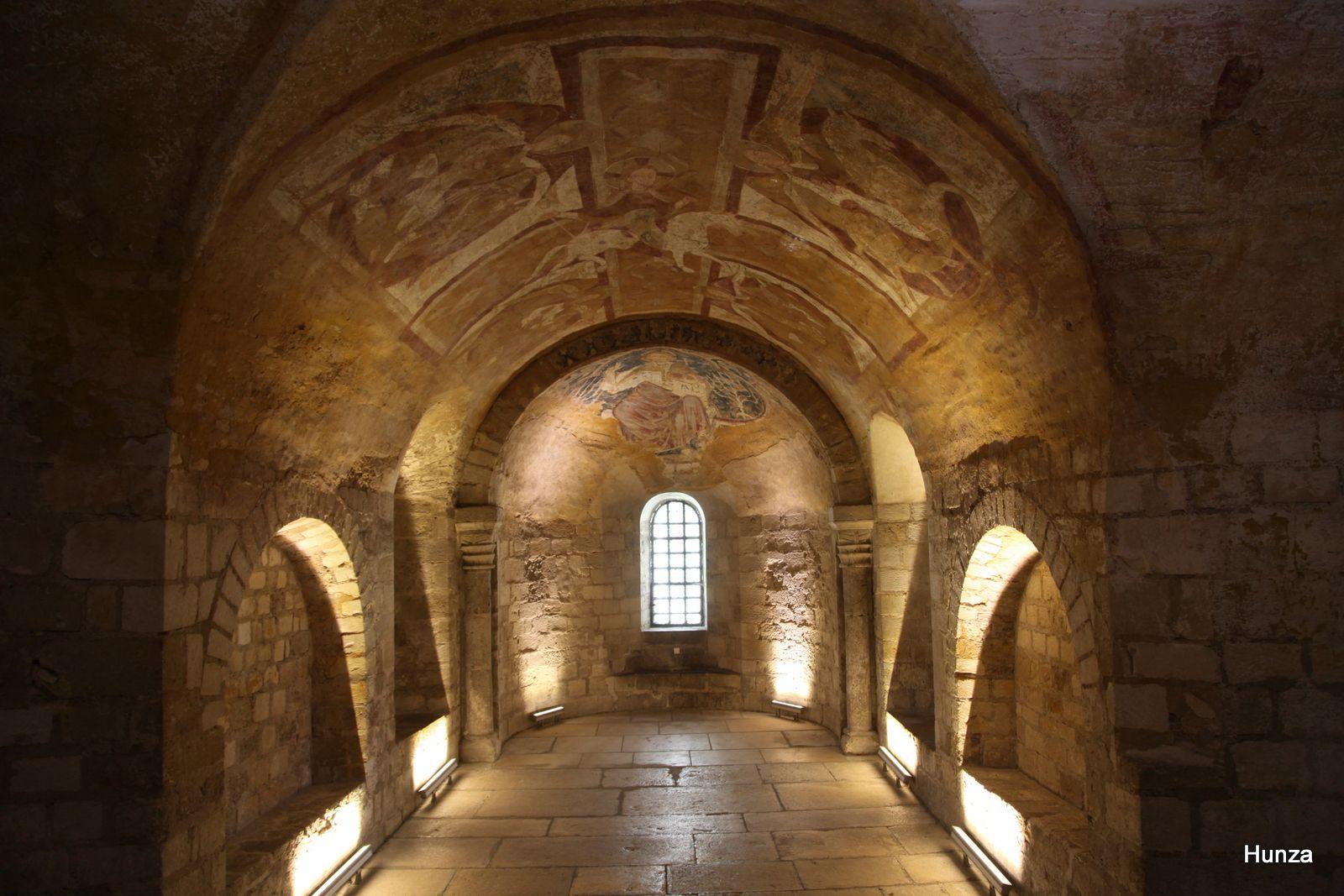 Crypte de la cathédrale d'Auxerre