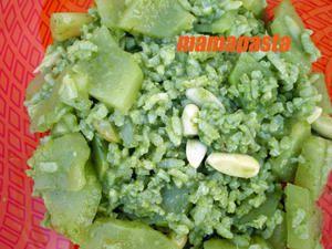 salade jade chayotte et pandan
