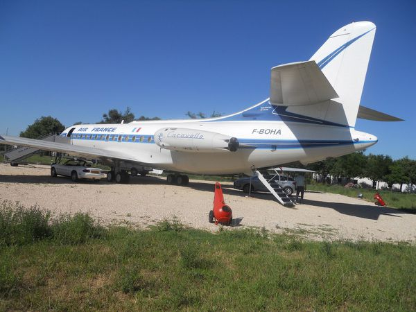 "SUD AVIATION CARAVELLE III SE 210 F-BOHA ""Guyane"""