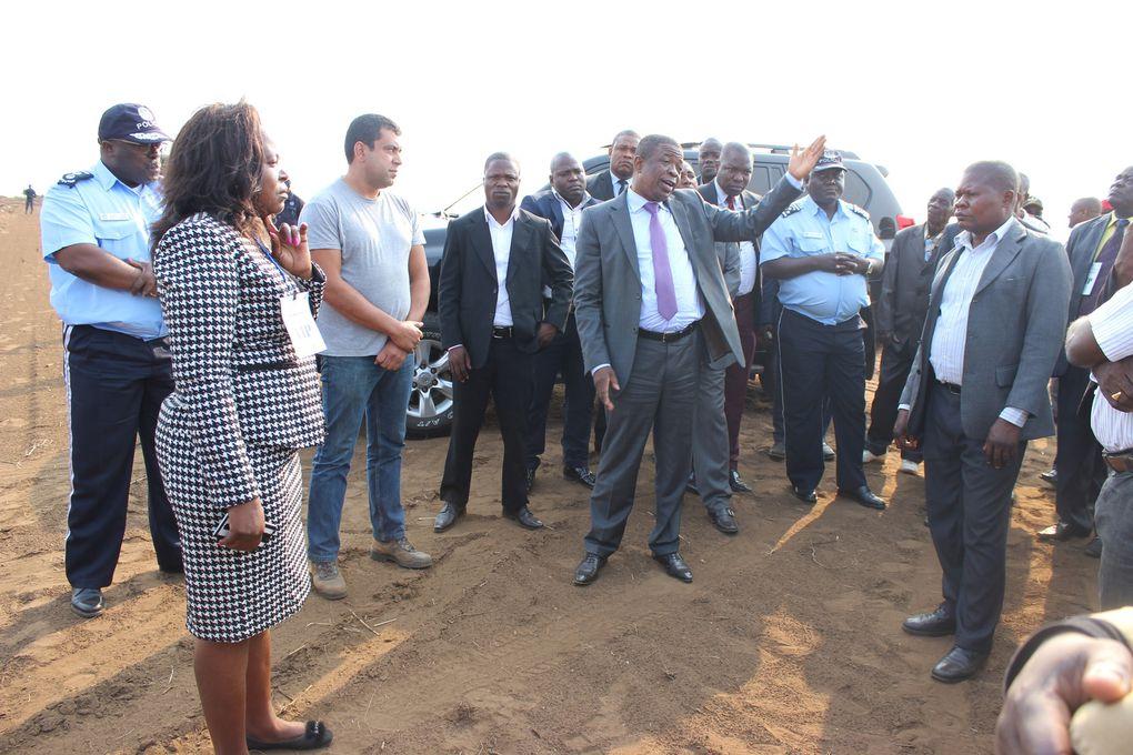 A inauguração da Feira Agro-Pecuária Municipal da Damba