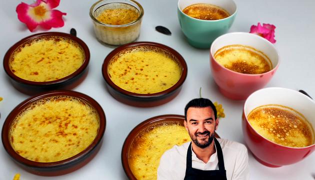 Tous en Cuisine : Les Crèmes Caramel à la Vanille et Fève Tonka de Cyril Lignac !