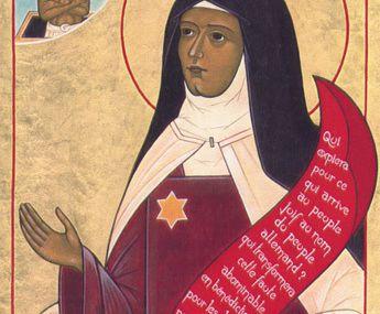 09 août - Sainte Thérèse-Bénédicte de la Croix ou Edith Stein