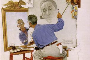 NORMAN ROCKWELL- Série 9: artistes